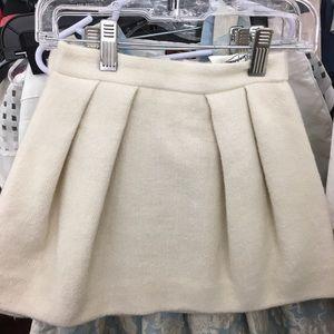 { Bonpoint } Theoine Cream Zip Skirt
